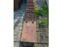 """75 reclaimed """"tuckers loughborough"""" roof tiles"""
