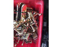 Brass Door Handles £3.00 PER PAIR