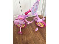 "Girls Small Peppa Pig Bicycle 10"""