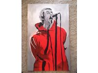 Liam Gallagher popart painting