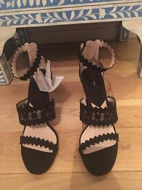 Mango Brand New High Heels Sandals - Size 8