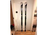 Fischer Skis, Poles and Bag