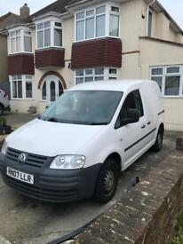 VW Caddy for sale 07 plate incredibly low mileage NO VAT