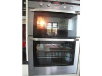 AEG built in multi function double oven