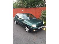 1997 RARE MINT RENAULT CLIO S MAXIM sport 1.4 WITH Factory 16v spec. ONLY 69k BARGAIN RARE CLASSIC
