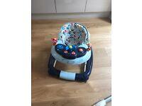 Baby walker nearly new John Lewis