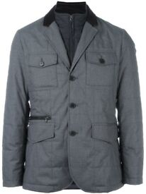 HACKETT 'Mayfair' zip out jacket (M)