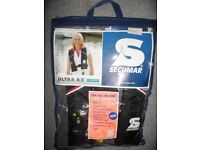 SECUMAR Ultra AX 150 Harness Plus 150N Automatic Lifejacket & Light Adult >50kg - 2 AVAILABLE