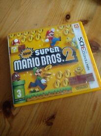 New Super Mario Brothers 2 for 3DS