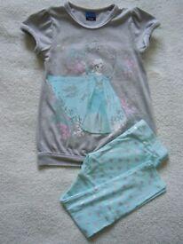 Frozen top and leggings set 6-7 years