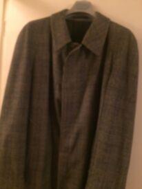100 % Wool Gents Vintage Classic Overcoat