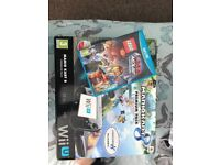Wii U with 2 games