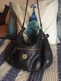 Beautiful Mulberry Somerset chocolate brown bag handbag