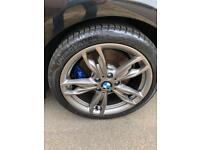 """BMW Genuine 405M Alloys 18"""" with NEW TYRES x 4"""