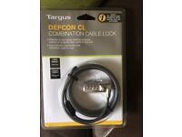 Targus DEFCON CL Combination Cable Lock