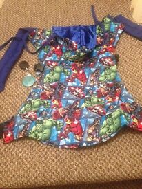 Custom Marvel Avengers TODDLER baby carrier