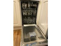 Beko Slimline Dishwasher only 15 months old