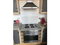 Baumatic electric cooker/extractor/ electric hob
