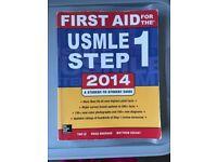 First Aid USMLE Step 1 2014 book