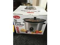 Slow cooker unopened