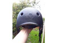 Diamondback matte black urban helmet