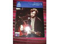 Eric Clapton Unplugged Guitar Tab Book