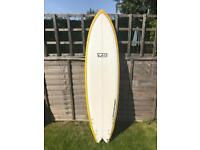 7s superfish surfboard new condition