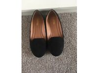 Never Worn Black Flat shoes