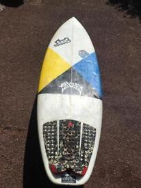 Lost Short Round Surfboard 5.6 x 19.75 x 2.38