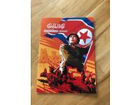 Original North Korean Stamp Collection