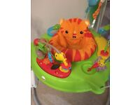 Fisher price rainforest jumperoo new style