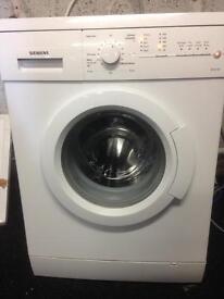 Siemans washer machine