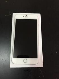 Apple iPhone 6 Plus 128gb. White/silver excellent condition Boxed