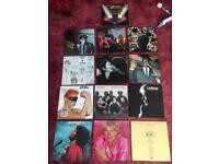 Collection of vinyls