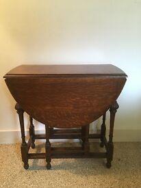 Oak Vintage Table