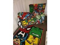 Boys bedroom avengers