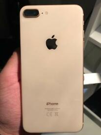 iPhone 8 Plus 64GB GOLD UNLOCKED Like New !