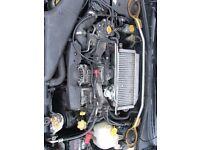 Subaru Impreza WRX Bugeye Blobeye 2.0 Turbo Engine
