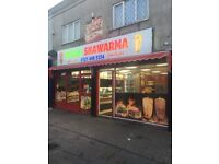 Restaurant takeaways pizza shop shawarma for sale