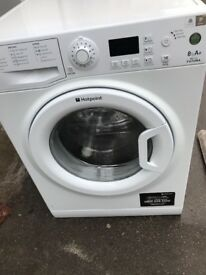 Hotpoint washing machine 8KG free delivery