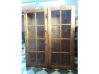 Pine kitchen units / Welsh dresser cupboards