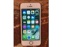 iPhone 5s 16GB, unlocked, gold, good condition, full working.