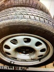 Car tyres 185-60-14 wheels
