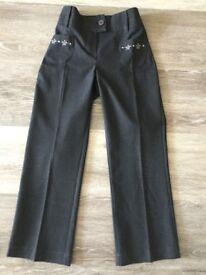 Girls school uniform M&S trousers