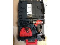 Milwaukee fuel drill and impact driver for sale