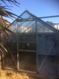 Halls 6x6 Greenhouse/100% intact/Dismantled/Can deliver