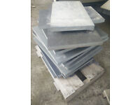 Various size riven slate slabs 25mm thick