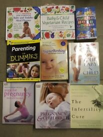 Pregnancy Parenting Yoga Childbirth Names Infertility Recipes Books Bundle