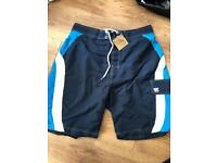 Brand new with tags men's swim shorts