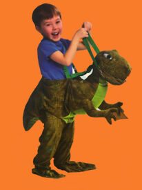 T-Rex Dinosaur Ride on Costume age 3-7 brand new with tags
